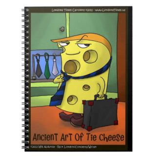 Funny Cartoon Tai Chi Spiral Notebook
