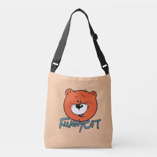 Funny Cat Crossbody Bag