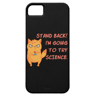 Funny Cat Engineering Scientist Robot Science iPhone 5 Cases