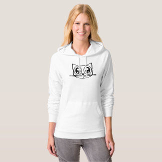 Funny Cat Face Hoodie