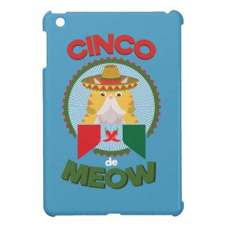 Funny Cat for Cinco de Mayo Mexican Holiday iPad Mini Case