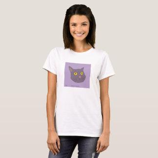 Funny cat grey T-Shirt