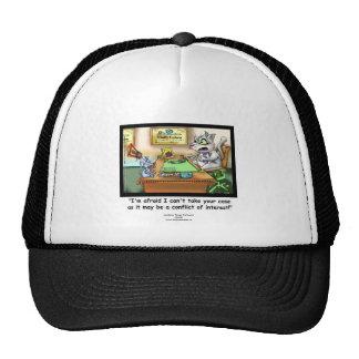 Funny Cat & Lawyer Truckers Cap Trucker Hat