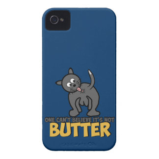 Funny cat licking its butt iPhone 4 case