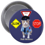 Funny Cat Officer/Hall Monitor