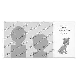 Funny Cat. Customized Photo Card