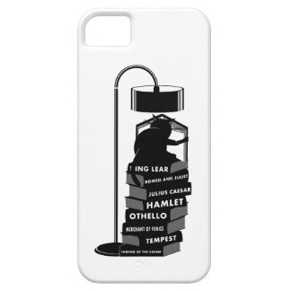 Funny Cat Reading Shakespeare Plays iPhone 5 Covers
