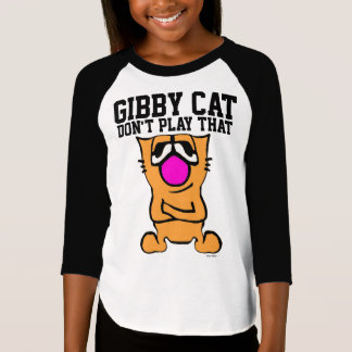 Funny Cat T-shirts for Kids GIBBY CAT