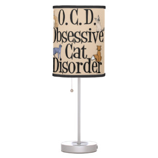 Funny Cat Table Lamp