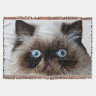 Funny Cat Throw Blanket