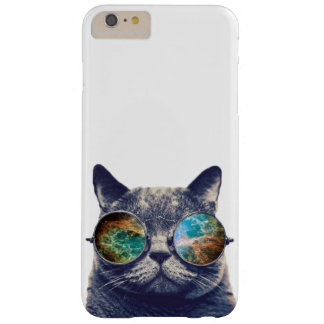 Funny Cat With Glasses Barely There iPhone 6 Plus Case