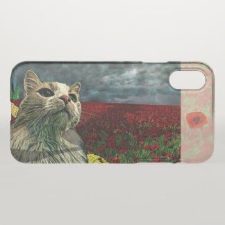 """Funny Cat """"Wizard of Oz"""" Baum Clear iPhone Case"""