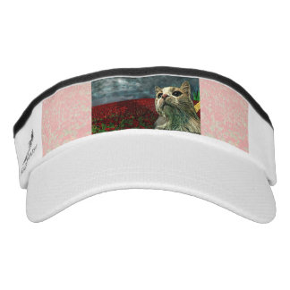 "Funny Cat ""Wizard of Oz"" Baum Custom Knit Visor"