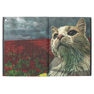 "Funny Cat ""Wizard of Oz"" Baum Fantasy iPad Cover"