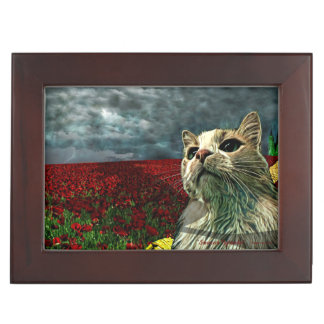 "Funny Cat ""Wizard of Oz"" Baum Keepsake Gift Box"