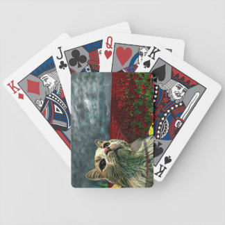 """Funny Cat """"Wizard of Oz"""" Baum Poker Playing Cards"""