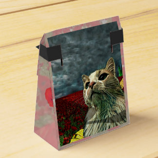 "Funny Cat ""Wizard of Oz"" Baum Tent Favor Box"