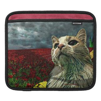 "Funny Cat ""Wizard of Oz"" Horizontal iPad Sleeve"