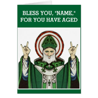 funny Catholic birthday Card