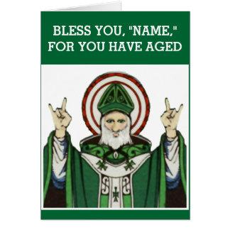 funny Catholic birthday Greeting Card