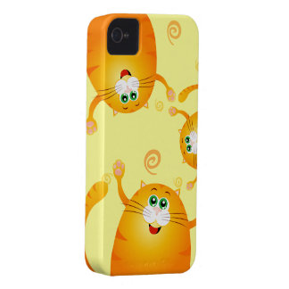 Funny cats, iPhone 4 case