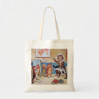 Funny Cats:  The Naughty Puss by Louis Wain Tote Bag