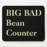 Funny CFO Nicknames - Big Bad Beancounter Mouse Pad