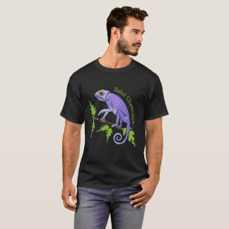 Funny Chameleon, Rebel with Good Cause T-Shirt