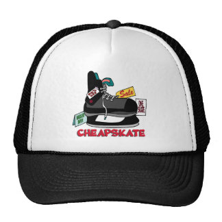 Funny Cheapskate T-shirts Gifts Hat