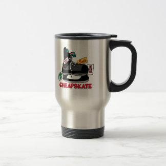 Funny Cheapskate T-shirts Gifts Mug