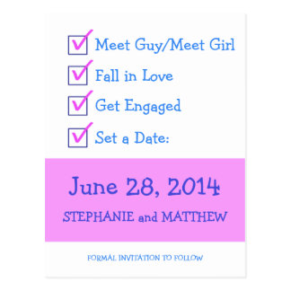 Funny Save The Date Postcards, Funny Save The Date Post ...