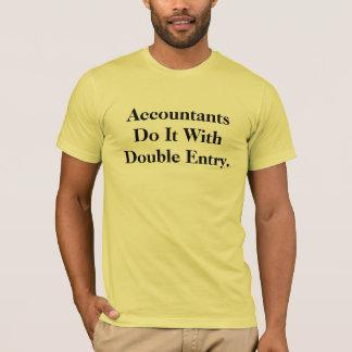 Funny Cheeky Innuendo Accountant Slogan T T-Shirt