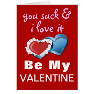 Funny Cheeky Valentine Card