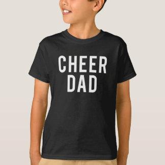 Funny Cheer Dad Print T-Shirt