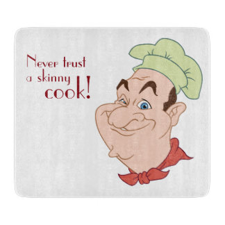 Funny Chef Cook Cutting Board