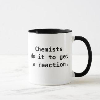 Funny Chemist Quote Joke Pun Mug