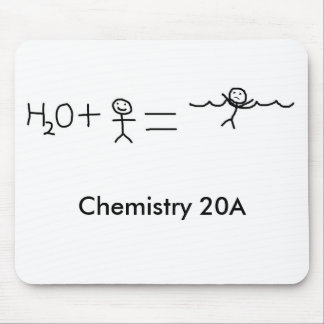 funny, Chemistry 20A Mouse Pad
