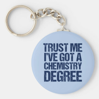 Funny Chemistry Graduation Keychain