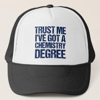 Funny Chemistry Graduation Trucker Hat