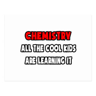 Funny Chemistry Teacher Shirts and Gifts Post Cards
