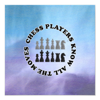 Funny Chess Players Know All the Moves Announcement