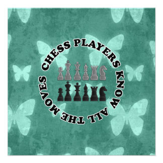 Funny Chess Players Know All the Moves Invites