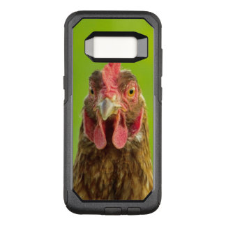 Funny Chicken on a Green Background OtterBox Commuter Samsung Galaxy S8 Case