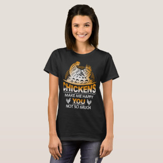 Funny Chicken Owners Design T-Shirt