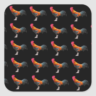 Funny Chickens Roosters Birds Hens Stickers