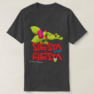 Funny Chico Chihuahua cartoon fiesta siesta T-Shirt