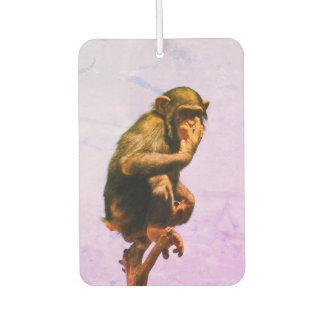 Funny Chimpanzee Baby Air Freshener
