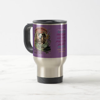 Funny Chopin Parody Chopanda Panda Animal Composer Travel Mug