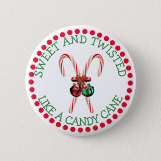 Funny Christmas Button