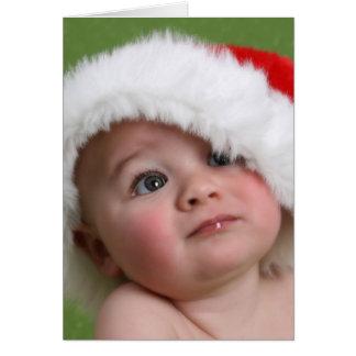 Funny Christmas Card - Fat Man Stuck